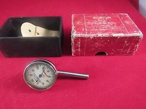 Starrett Dial Test Indicator No 196 Used