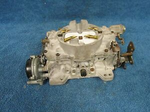 1960 s Chevy Buick Oldsmobile Carter Afb 4 Barrel Carburetor Nice 715