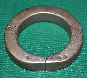 Antique African Tuareg Ethnic Metal Tribal Ring Niger Africa Ring Size 10 1 2