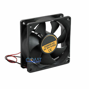 Universal Durable 3 12v Square Turbo Cooling Fan For Amplifier Components