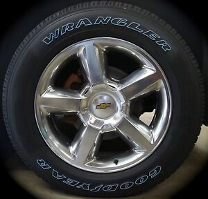 New Chevy Silverado Tahoe Suburban Avalanche Ltz 20 Wheels Rims Tires Free Ship