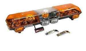 Wolo 7000 A Infinity 1 Amber Lens 12 Volt Halogen Rotating Roof Mount Light Bar