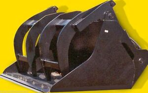 94 Wide Scrap Grapple Bucket fits Your Telehandler wheel Loader Backhoe Loader