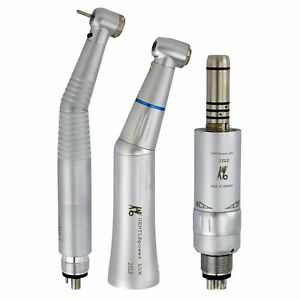 Kavo Style Dental Inner Water Contra Angle Motor Self Power Led Handpiece Kit M4