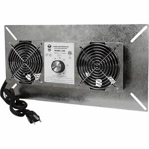 Tjernlund Underaire Crawl Space Ventilator deluxe Two fan 220 Cfm v2d