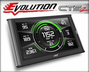 Edge Gas Evolution Cts2 Tuner Monitor 85450 99 15 Gm Ford Dodge Car Truck Suv