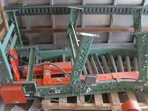 5 Roach Electric Powered Conveyors Roller System Huge Lot Exc Cond Material Flow