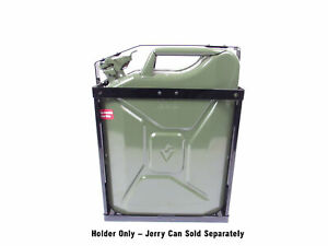 Jerry Can Holder Nato Style Steel 5 Gallon 20 Liter Fits Wavian Style Cans
