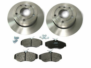 Land Rover Discovery Series Ii Front Brake Kit With Standard Rotors