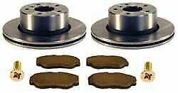 Land Rover Discovery Series Ii Front Brake Kit Ferodo Pads Standard Rotors