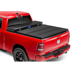 Extang 84430 Solid Fold 2 0 Toolbox Tonneau Cover For Dodge Ram 76 Bed