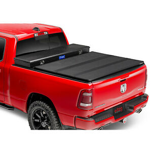 Extang 84795 Solid Fold 2 0 Toolbox Tonneau Cover For Ford F 150 96 Bed