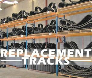 Case Cx15 Mini Excavator Replacement Tracks set 2 Locations In Ca or tx Or Ny