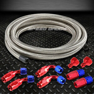 Fuel Gas Tank Cell An10 An6 10 An Fittings Braided Ss Feed Return Line Hose Kit