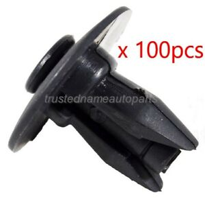 100pcs Bumper Cover Lower Retainer Clips For Buick Chevy Gmc Oldsmobile Pontiac