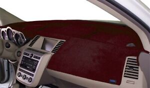 Fits Toyota Pickup Truck 1984 1986 Velour Dash Board Cover Mat Maroon