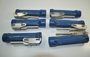 Abicor Binzel Welder torch Plastic Switch Handle Grip Lot Of 6