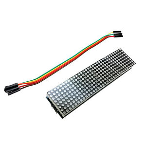 5pcs Max7219 Dot Matrix Module Arduino Microcontroller Module 4 In One Display