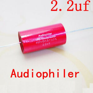 2pcs Mkp Audiophiler Capacitor For Tube Amps 2 2 Uf 400v