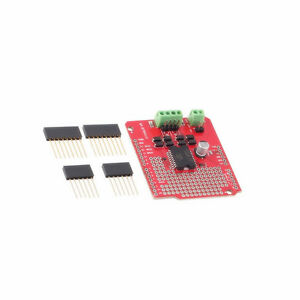 1pcs L298p Dual Channel Motor Driver Shield Dc Stepper Driver Board For Arduino