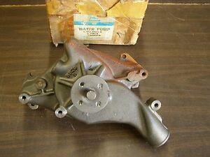 Nos Oem Ford 1961 1964 Galaxie Water Pump 352 390 427ci 1962 1963 500 Xl Ltd