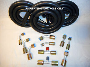 Air Conditioning Hose Kit Flare Fittings Hose Only For General Use