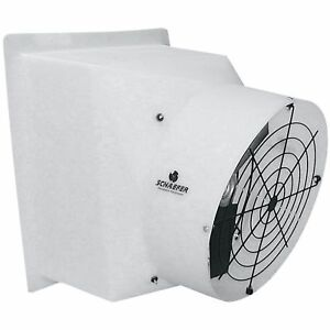 Schaefer Exhaust Fan 24in 5300 Cfm 1 2 Hp 115 230 Volt pfm244p12a