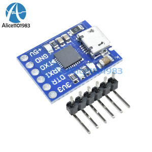 2pcs Cp2102 Micro Usb To Uart Ttl Module 6pin Serial Converter Stc Replace Ft232