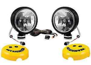 Kc Hilites 653 Set Of 2 Black Daylighter Gravity Led Driving Lights W harness