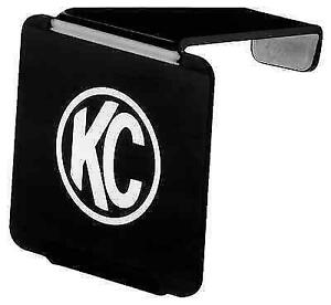 Kc Hilites 72000 Single 3 Black Acrylic Light Cover W Logo For Kc Lzr Cube