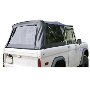 Rampage 98501 Black Replacement Soft Top W frame tinted Windows For 80 96 Bronco