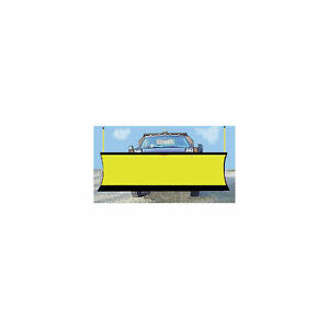 S A M Snowplow Shield Yellow 1310020