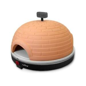 New Nutrichef Pkpz950 Electric Pizza Pit Oven Pizza Maker Oven Stone