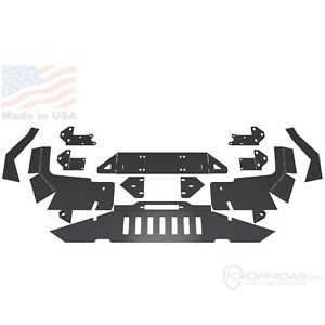 Jcr Offroad Diy zj f wn Diy Front Winch Bumper For Jeep Grand Cherokee wrangler