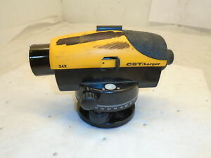 Cst Berger s55 pal24d Automatic Level 1 16 150ft Accuracy 300ft Work Range