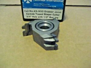 Delta 43 933 C t Drawer Joint Shaper Cutter aa8095 1