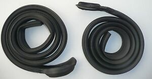 Weatherstrip Roof Rail Dart 67 72 2dr Hdt Scamp A Body Usa Rubber Seal