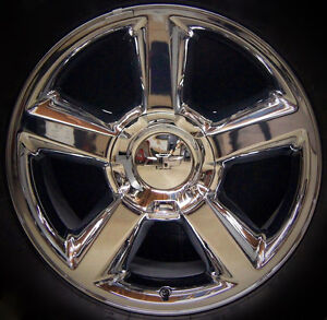 New Chevy Tahoe Suburban Avalanche Ltz 20 Chrome Wheel Rim Factory Exact Replica