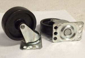 Bassick 2 1 2 Dia X 3 4 Top Plate Caster C103p Lot Of 20 Each