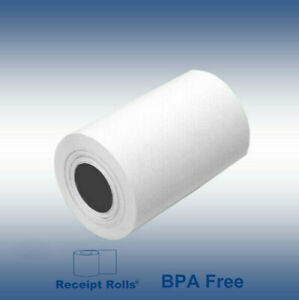 4 X 81 Thermal Paper Rolls For Zebra Rw420 ql 420 36 Rolls Per case