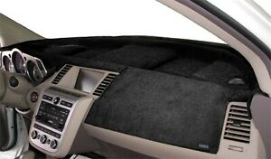 Fits Hyundai Tiburon 2003 2008 Velour Dash Board Cover Mat Black