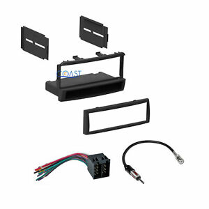 Single Din Radio Dash Kit Harness Antenna Long For 00 04 Ford Focus W Blaupunkt
