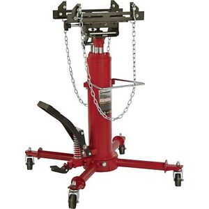 Strongway 2 stage Telescoping Transmission Jack 1 2 Ton Capacity