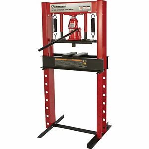 Strongway Hydraulic Shop Press 20 Ton Capacity