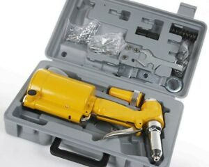New Pneumatic Air Hydraulic Pop Rivet Gun Riveter Riveting Tool W case