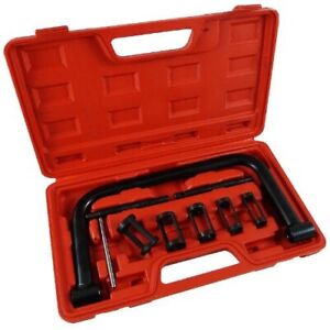 5 Sizes Valve Spring Compressor Pusher Automotive Tool W Case For Car Motorcycle