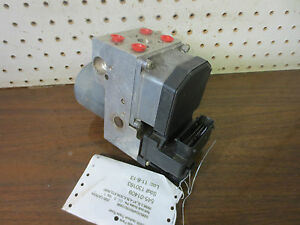 abs1321 2000 00 Cadillac Catera Anti lock Abs Brake Pump Module 0 265 220 428