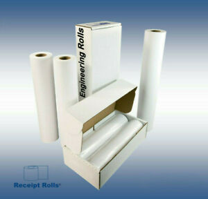 36 X 500 Wide Format Engineering Plotter Paper Rolls With 3 Core 2 Rolls