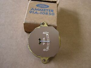 Nos 1937 1938 1939 Ford Car Truck Dash Amp Gauge Indicator