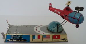 1956 1958 biller bahn wind up tin